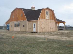 50' x 100' Modular Barn
