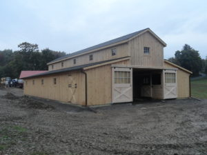 Monitor Barn Built by J&N Structures