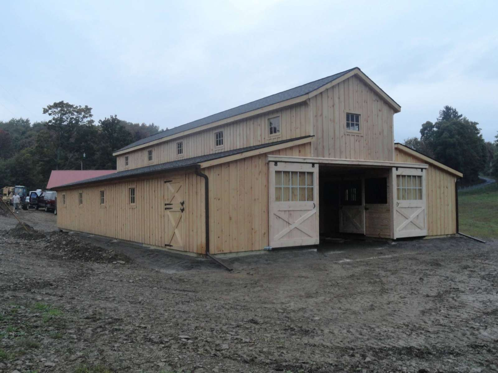 horse barns amish built pa nj md ny j u0026n structures