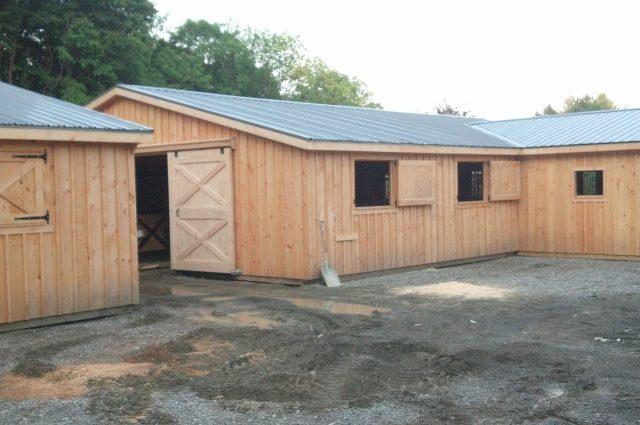 Wooden Horse Sheds