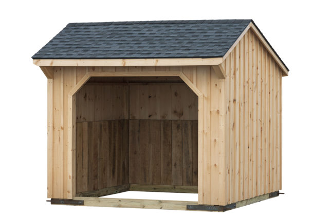 10×10 Run-In Shed