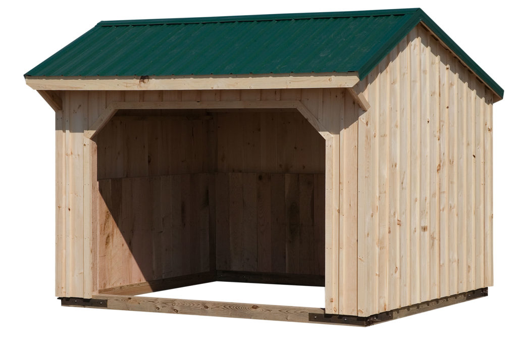 10x12 Standard Run In Shed J Amp N Structures