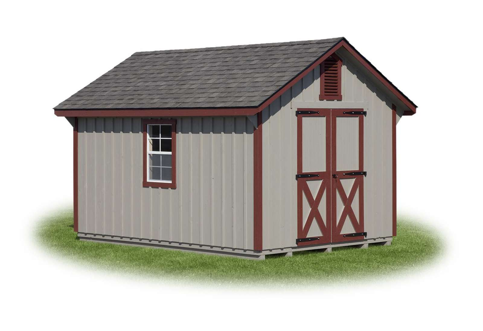 Cape Style Storage Shed J Amp N Structures