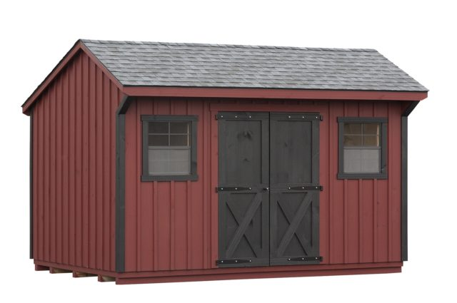 10×14 Manor Storage Shed