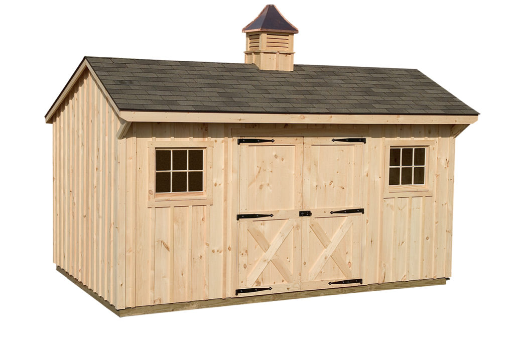 Manor Storage Shed With Cupola J N Structures