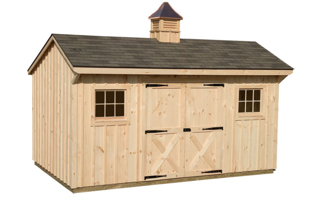 10×14 Manor Shed with Cupola