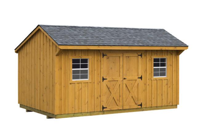 10×16 Hudson Storage Shed