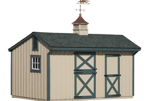 10×16 Shed Row Barn