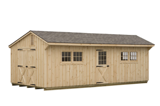 10×30 Manor Style Storage Shed