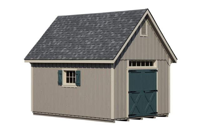 12x14 White River Shed