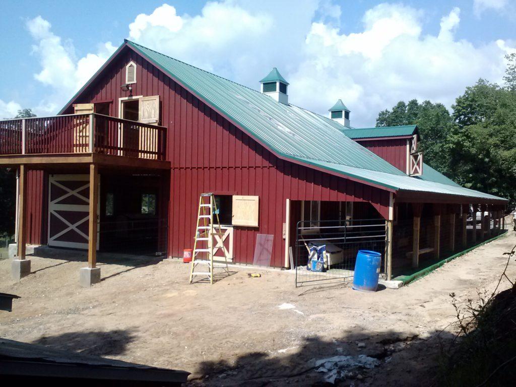 40x100 Modular Barn J Amp N Structures