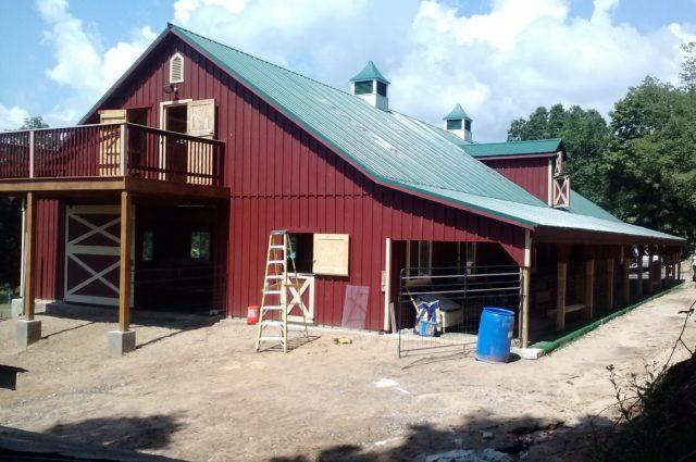 40×100 Modular Barn