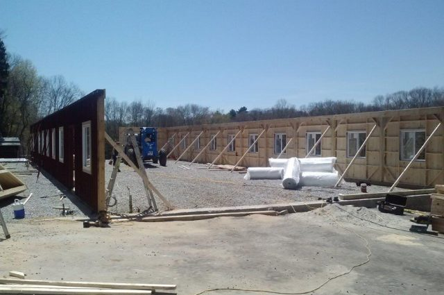Storage Barn Construction