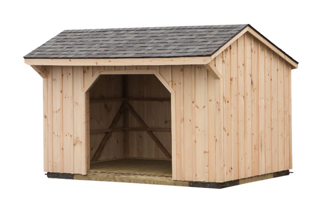 6x8 Run In Shed