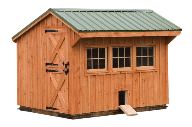 8×10 Custom Chicken Coop