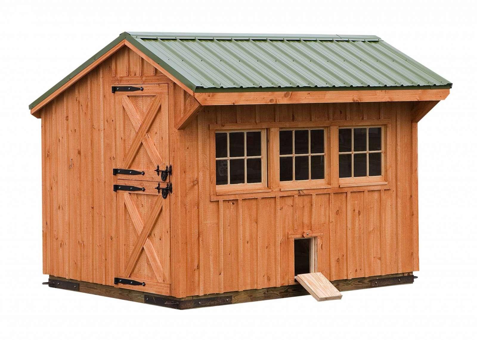 8x10 Custom Chicken Coop J Amp N Structures