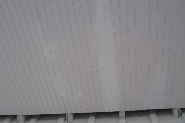 Siding of Shed
