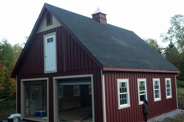 Amish Custom Garage