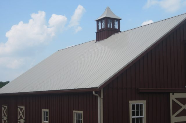 Cupola and Metal Roof