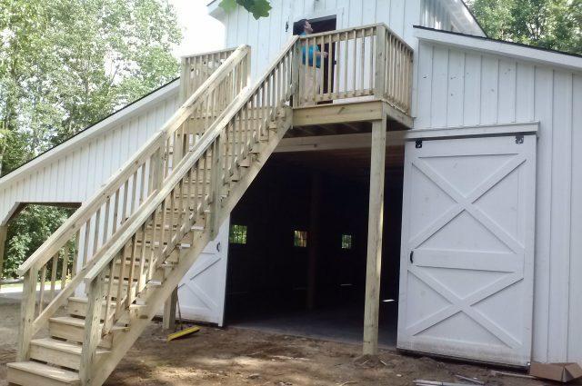 Camp Modular Barn