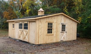 Custom Shed Row Barn