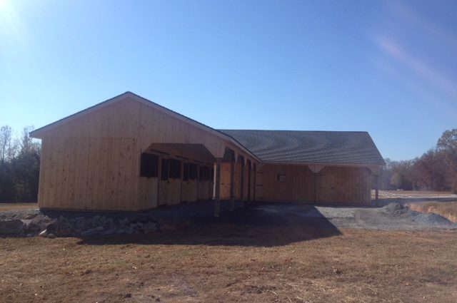 Lean To Barn and Garage