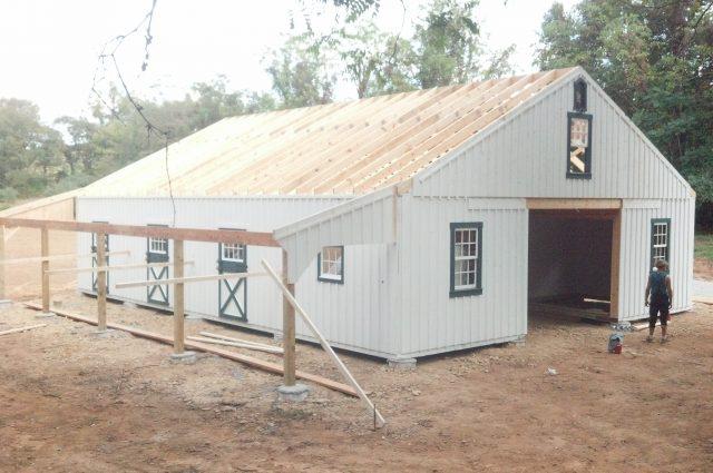 Custom Modular Barns