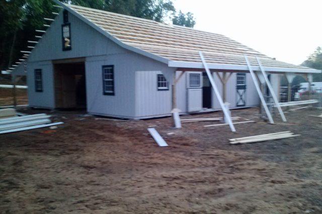 Custom Modular Barn