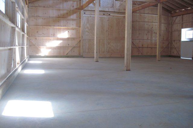Open Concept Barn
