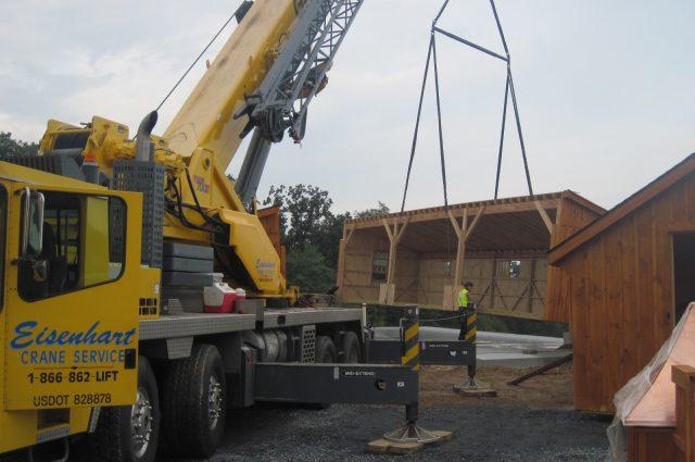 Safe Barn Construction
