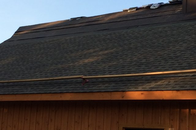 Dark Shingled Roof