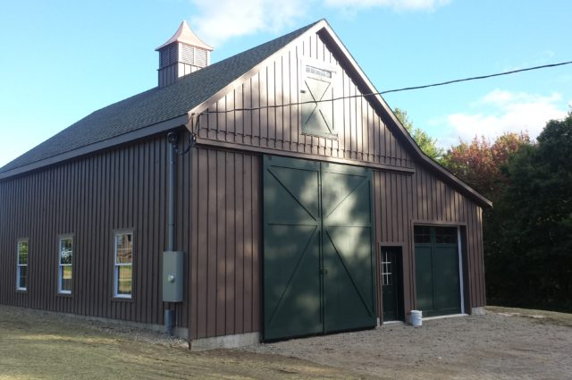 Prefab Garage – New London, NH