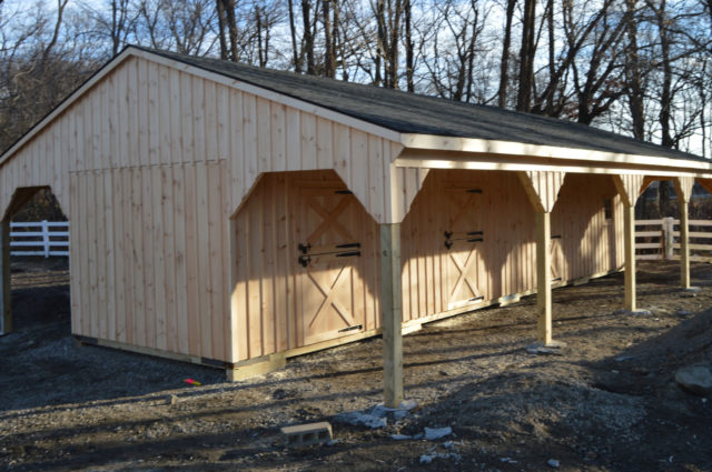 Custom Shed Row Barn – Bronx, NY