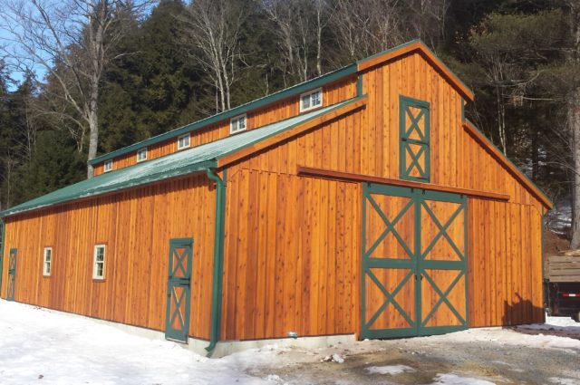 Monitor Prefab Barn – Chestertown, NY