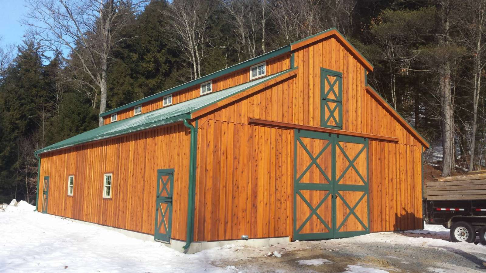 Monitor Prefab Barn Chestertown Ny J Amp N Structures