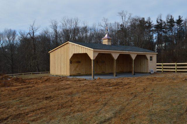 Basic Horse Barn