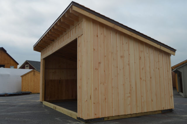 Custom Run-In Shed – Barnard, VT