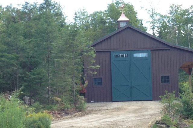 Custom Prefab Garage – West Burke, VT