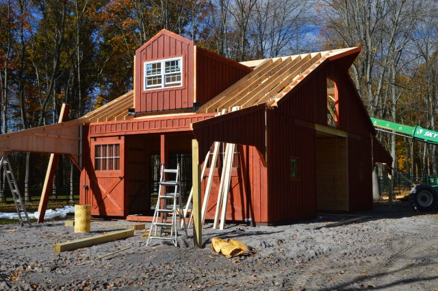 Two Story Kennebec Barn