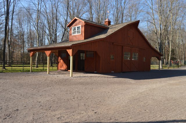 Competed Kennebec Barn