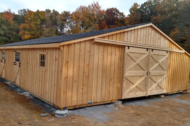 Custom Trailside Barn