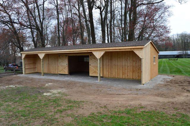 shingle roof shed