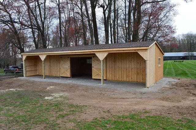 Storage Sheds & Barns