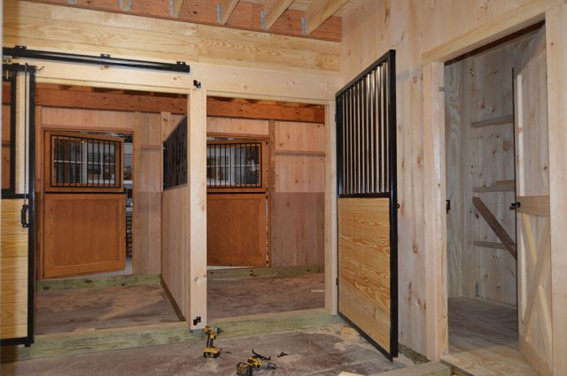 Double Barn Doors
