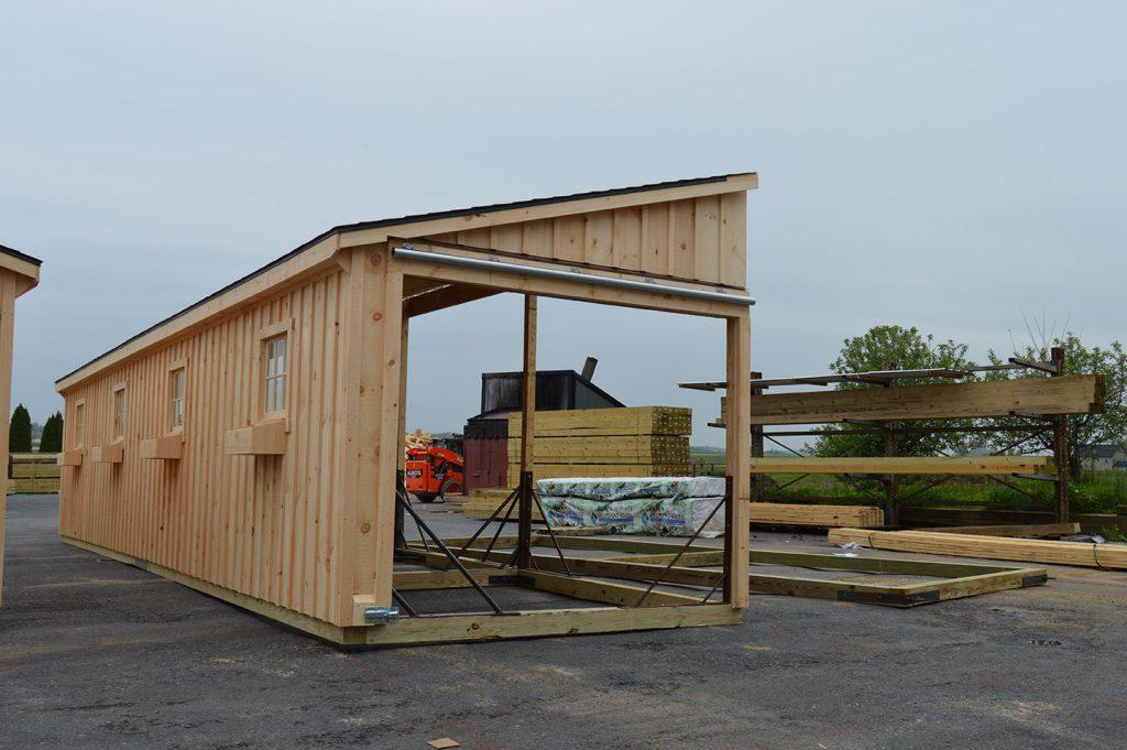 Trailside Modular Barn Wells Me J Amp N Structures