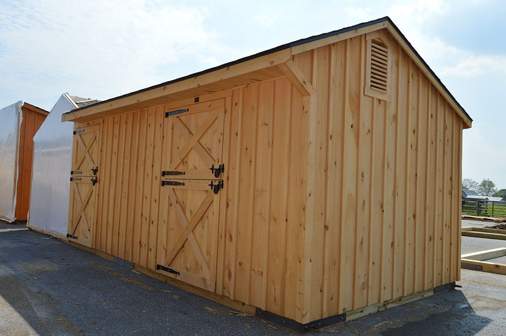 Custom l shaped barn fawn grove pa j n structures for L shaped shed