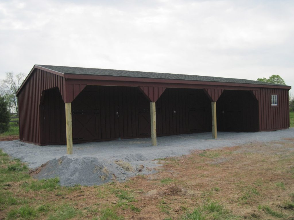 Shed Row Barn Littlestown Pa J Amp N Structures