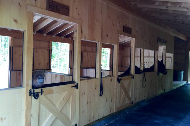 Custom Trailside Modular Barn – Wells, ME