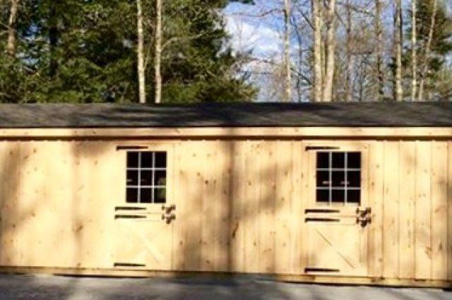 3 Stall Horse Barn