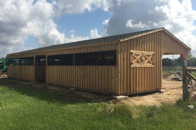Barn with Walkthrough